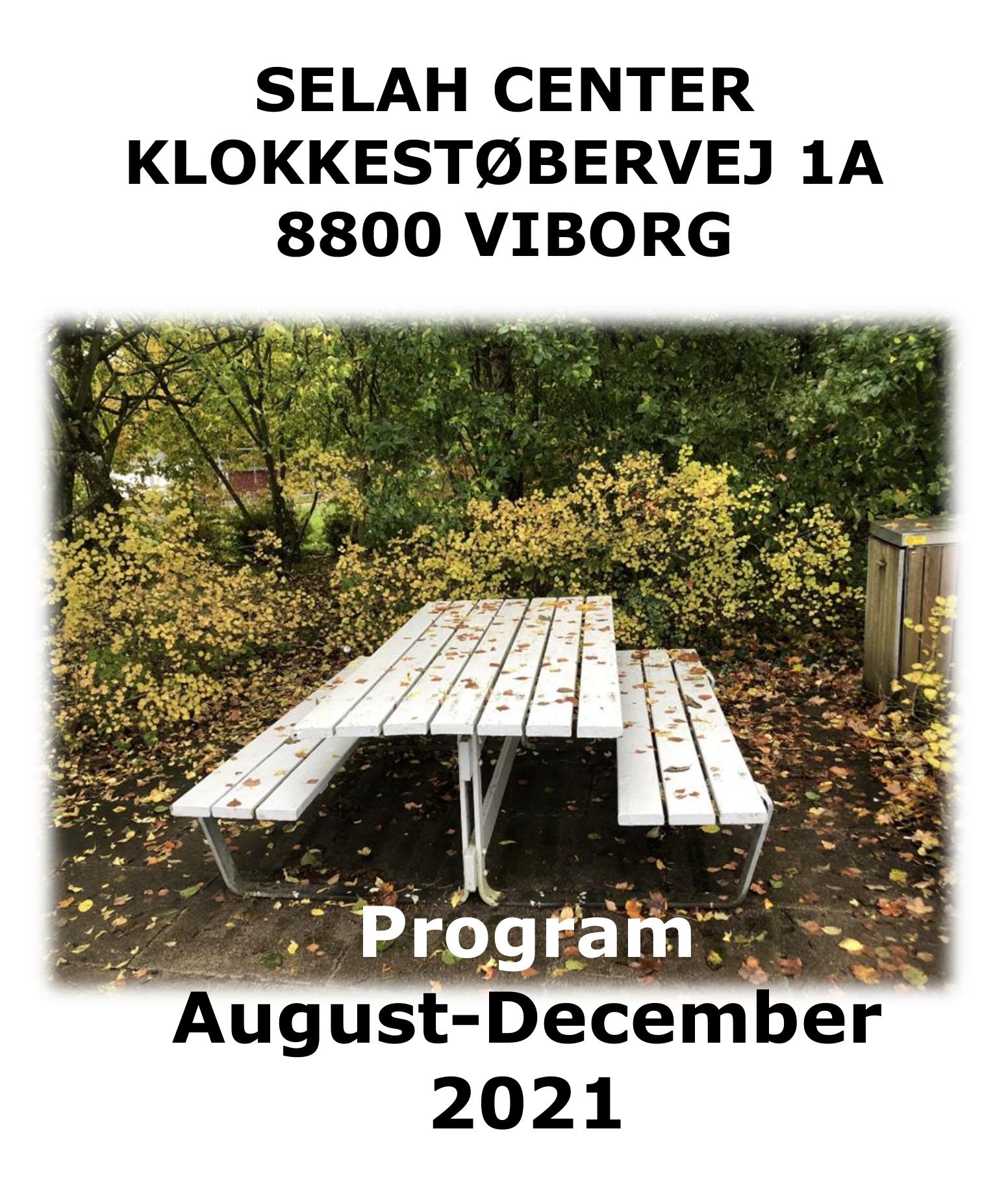 Program for fall 2021